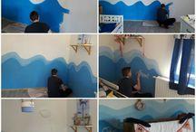 Detská izba v námorníckom štýle  -  moja práca