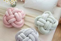 Knot Pillows