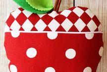 Šití polštářky - Pillows