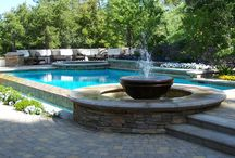 Pool Landscaping Tips / Inspiration to turn your pool into your own private oasis! With sparkling blue HTH Pool Care-treated water, you'll want to show your pool area off!