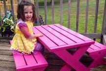 Mesas para criancas