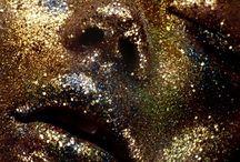 Glitter/gold/sparkle