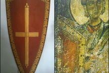 Byzantine shield