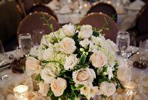 Low flower arrangements