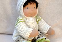 Baby and sack dolls