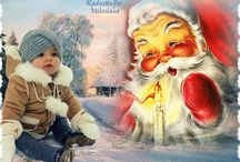 Mikuláš-Vianoce-Nový rok / animované obrázky