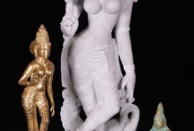 Hindu Goddess of the Mountain Parvati / by Lotus Sculpture