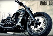 """V-Rod Harley """"Black Ice"""" Designed by Vida Loca Choppers / V-Rod Harley Black Ice Designed by Vida Loca Choppers in 2011"""