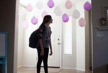 Birthday party ideas / For my thirteenth