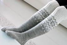 Handmade: Wool socks, gloves ...