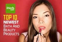 10 Newest ~ Bath and Beauty / 10 Newest Bath and Beauty Products on iHerb (http://www.iherb.com/Bath-Beauty) ~ New Customers can use Rewards Code PNT999 to get $10 off of a $40 minimum purchase or $5 off first time orders of less than $40.  / by iHerb Inc