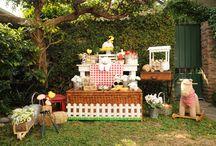 Farm Birthday Party by Veilys