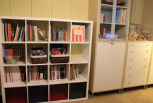Homeschool Room Organization / How to set up a great homeschool room.