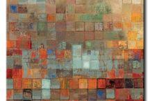 Paredes pintadas de varios colores