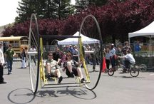 BikesBikesBikes / Ideas of objects made of repurposed, recycled and reused bikes or bike parts ! / by Recyclart