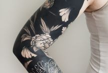 BLACK AND GRAY TATTOOS
