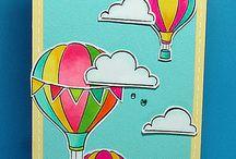 Lawn Fawn képeslapok