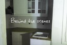 Behind the scenes & bloopers / under construction