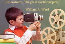 Quotes for Teachers / Inspirational and motivational quotes about teaching, education, and more.