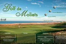 Club House du golf de Moliets / le rendez-vous incontournable des joueurs de golf et de tennis à Moliets (Landes)