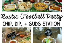 Football Entertaining / Love #football and #entertaining? This board combines both of these! It's filled with the greatest party and game day ideas!