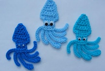 Crochet : Appliqués / Appliqués au crochet