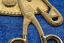 metalwork/goldenwork embroidery