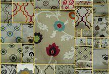 Fabric Sample Book /  Decorative Fabric Sample