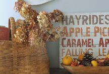 Thanksgiving Decor Inspiration / Thanksgiving decor inspiration