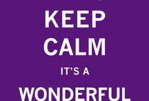 Keep Calm en pagaille ...