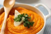 purée patates douce carottes