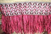 Capazo Marrakech / Capazo Marrakech decorado bordado hilo tela capazomania