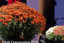 Fall Convocation 2016 / Friday, September 23, 2016 Capitol Centre, North Bay, Ontario