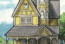 Domy, domki, kamieniczki