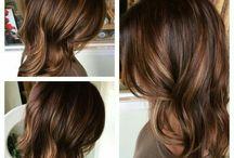 Farge håret?