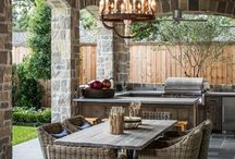 Outdoor kitchen / by Jayme Payne