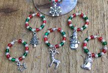 Christmas Bead Crafting