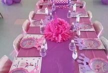 Royal Princess Party / Make your daughter feel like a real princess on her birthday.