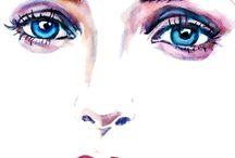 Face Watercolour