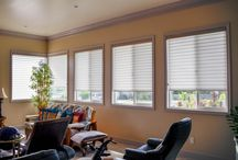 Hunter Douglas Window Treatments / A collection of various Hunter Douglas window treatments we have installed in homes throughout Maui County.