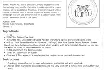 """THM recipes """"s"""" board / S style recipes for Trim Healthy Mama"""