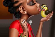 Girl black love