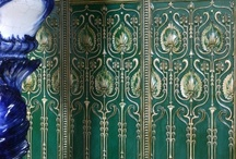 Vestibules / Lovely Dado panels add a bit of drama to your vestibule walls. Use tiles panels for a more durable version.