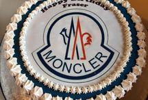 Moncler cake