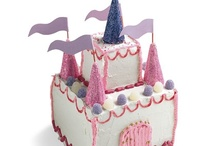 Princess castle cakes / by Fancy Fondant Cakes by Emily Lindley
