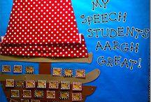 Speech- decorating / Cute decorating ideas for my speech room.