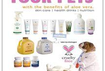 Care for animals / Για την φροντίδα των κατοικιδίων με προϊόντα απο την φύση www.aloespot.gr