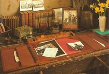 Desks, Books, etc.