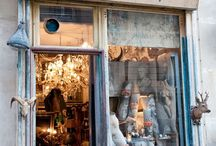 Stores-Window Ideas / store fronts, inside decorations of stores