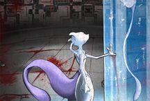 Mewtwo / As an artist alot of my inspirations came from Pinterest pins , so here I am collecting some of Mewtwo art , paintings and other related pins so that you could get inspired too :D have fun ! #pokemon mewtwo #mew and mewtwo #mewtwo cute #mew and mewtwo #dark mewtwo